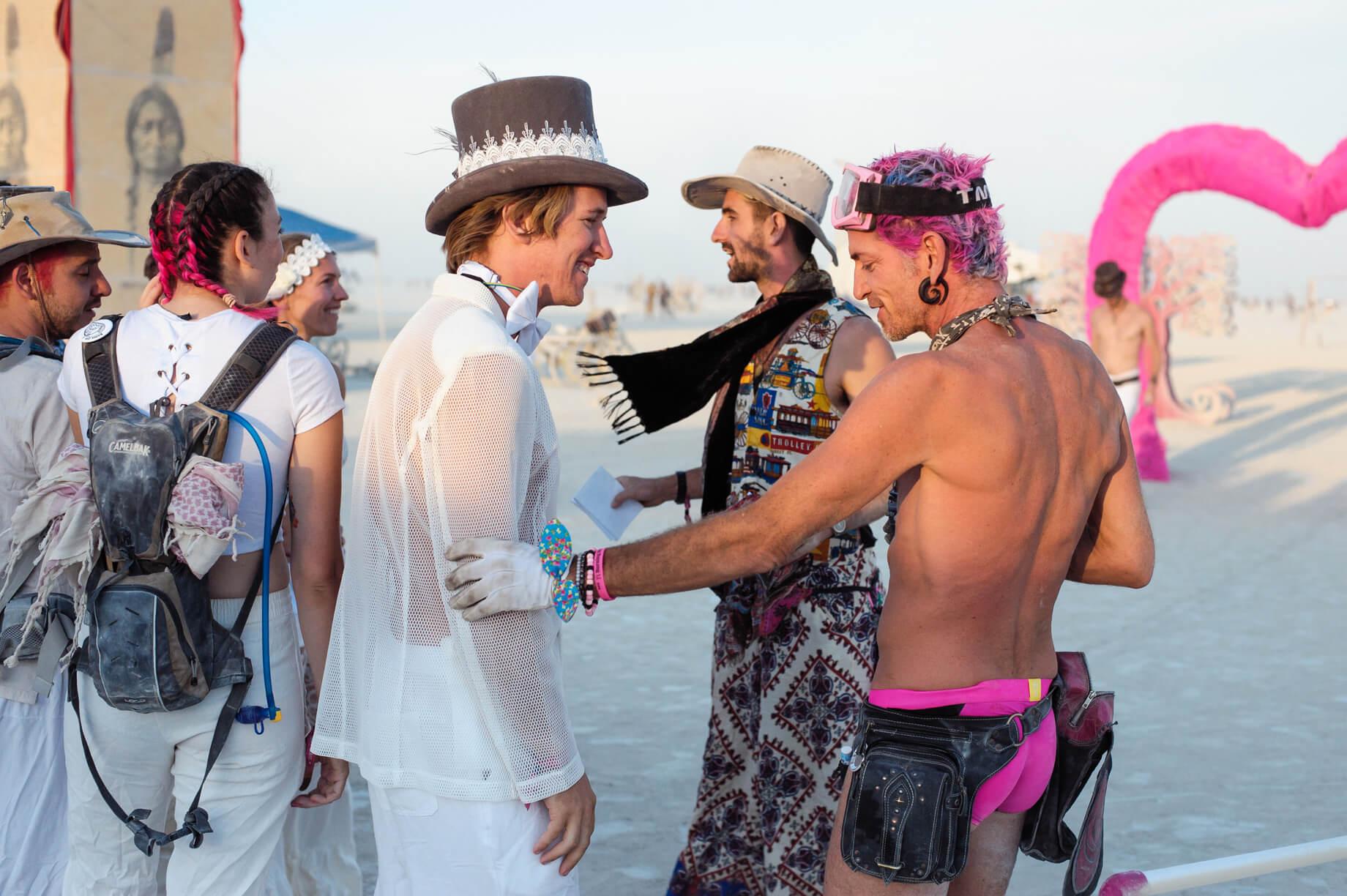 Burning Man Wedding on the Playa in Black Rock City, Nevada (2)