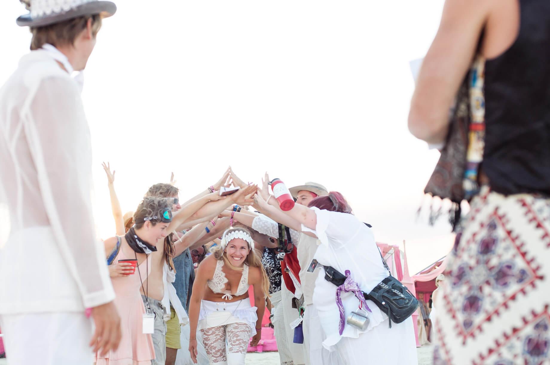Burning Man Wedding on the Playa in Black Rock City, Nevada (3)