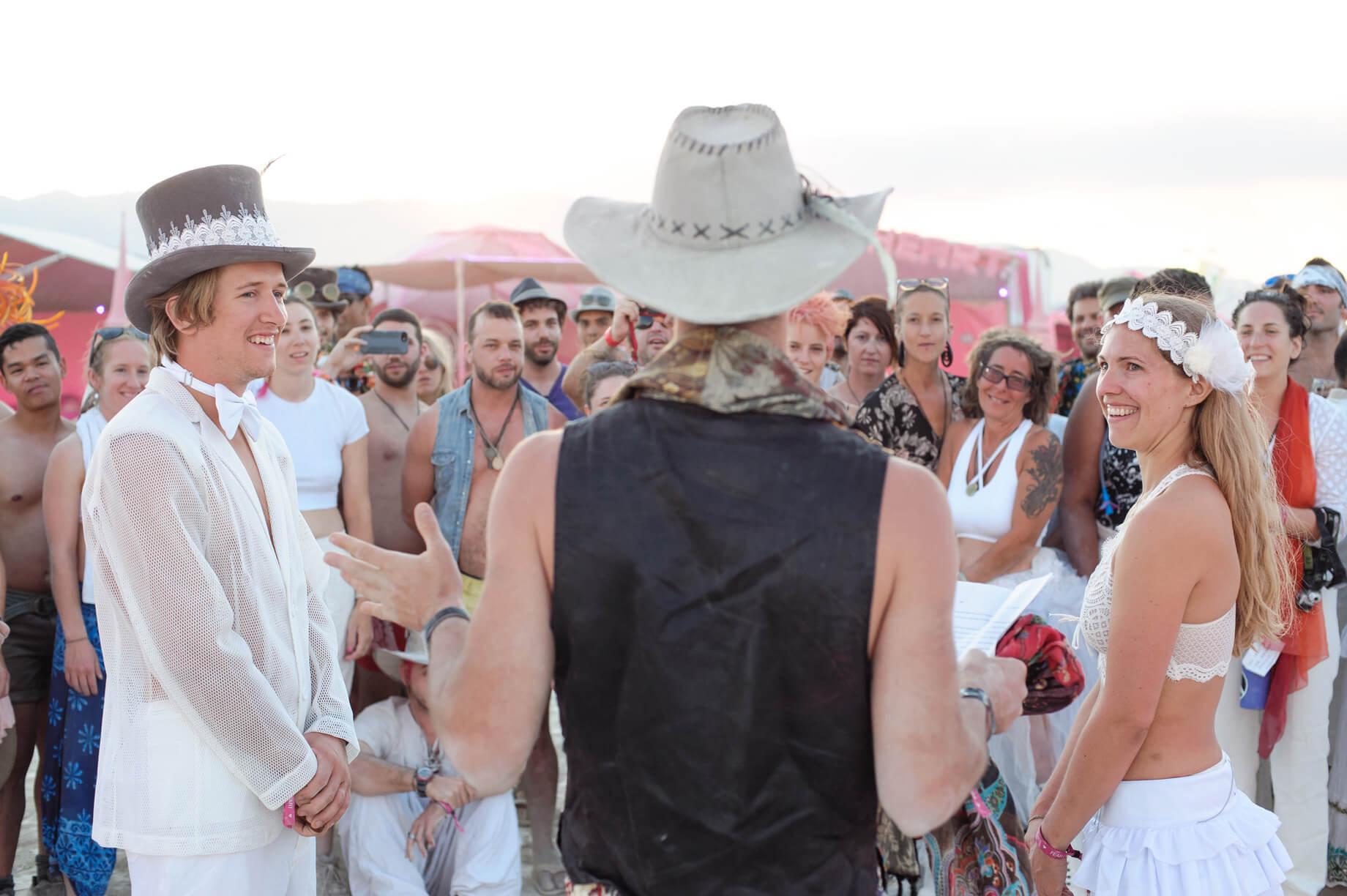 Burning Man Wedding on the Playa in Black Rock City, Nevada (4)