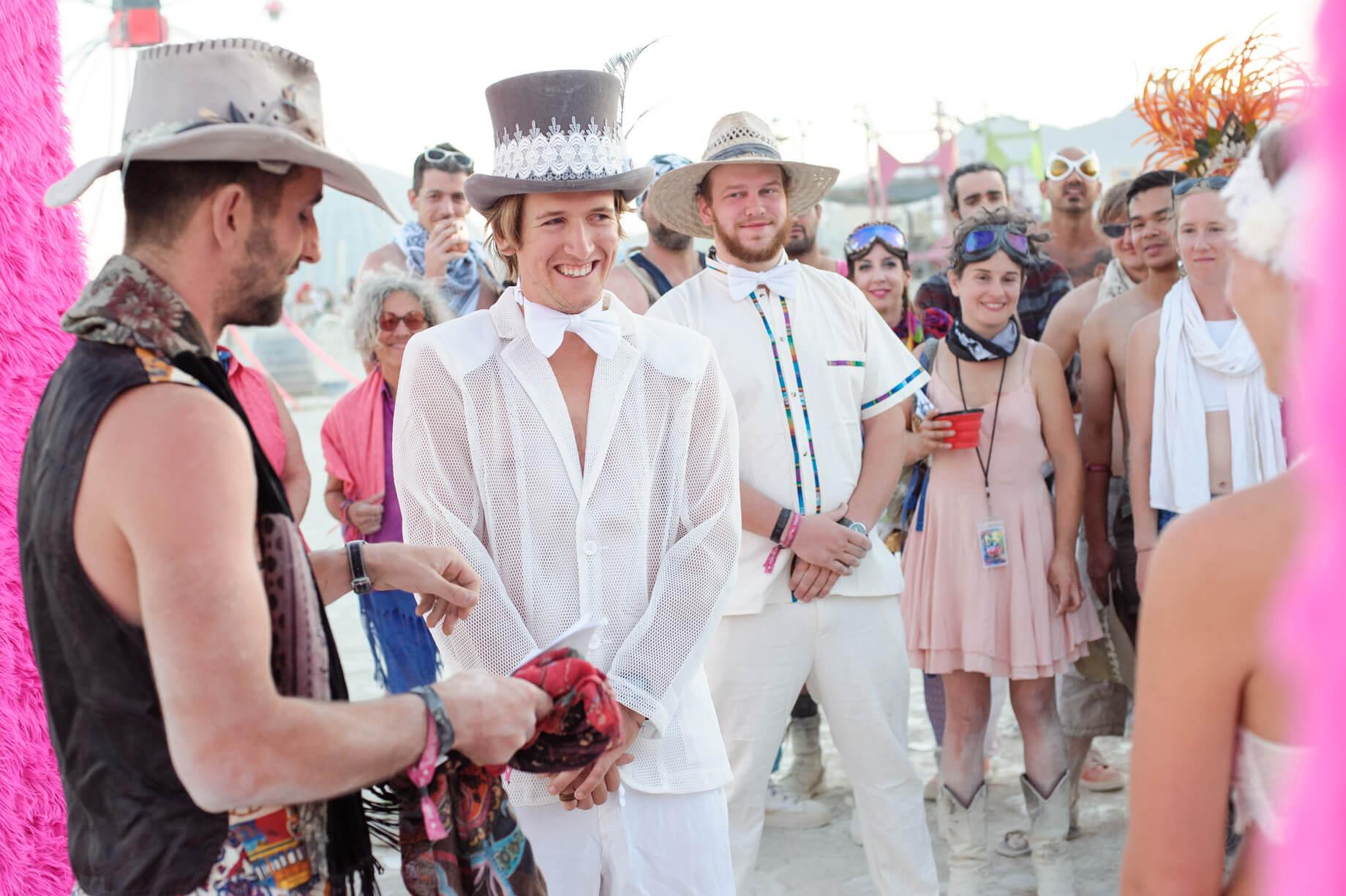 Burning Man Wedding on the Playa in Black Rock City, Nevada (7)