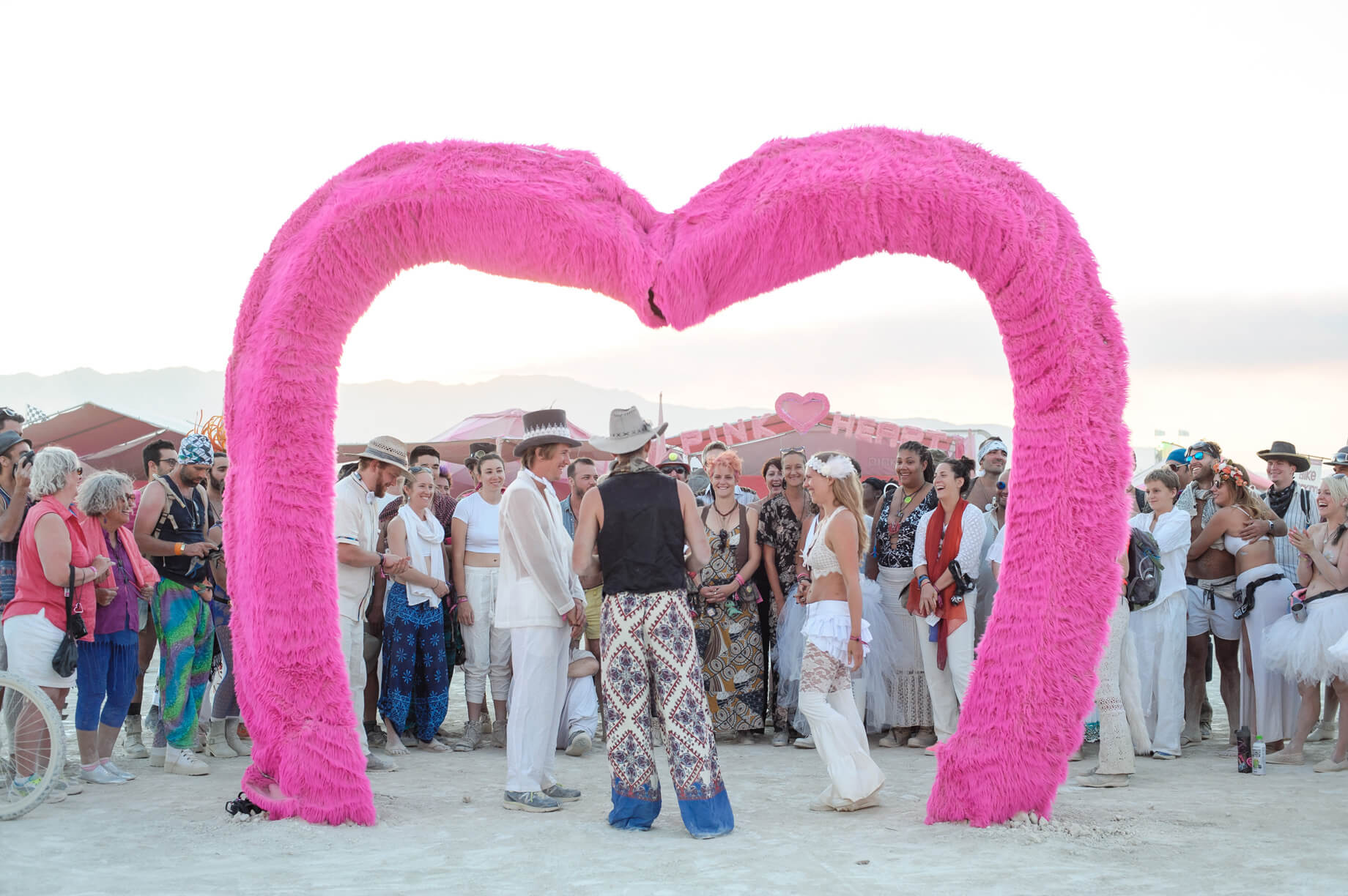 Burning Man Wedding on the Playa in Black Rock City, Nevada (8)