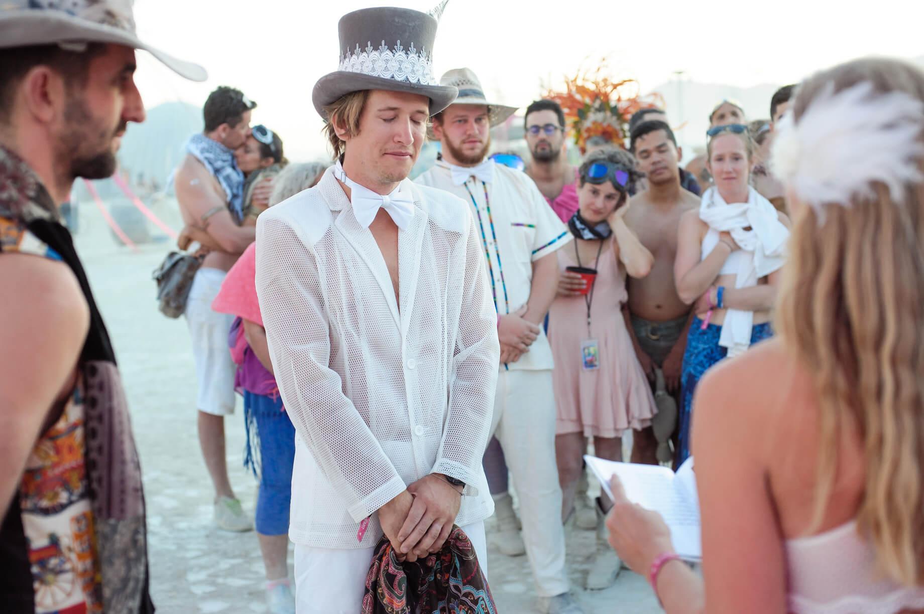 Burning Man Wedding on the Playa in Black Rock City, Nevada (16)