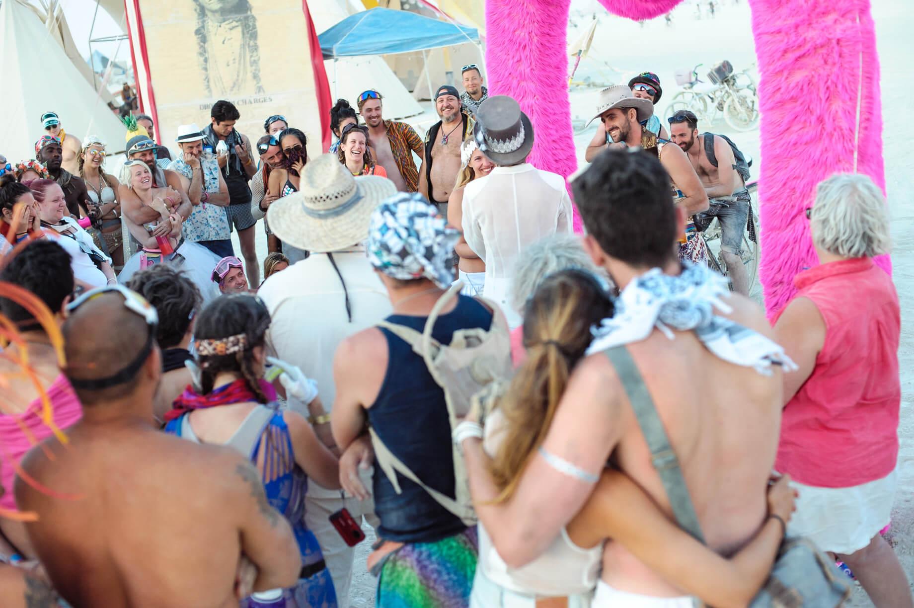 Burning Man Wedding on the Playa in Black Rock City, Nevada (18)