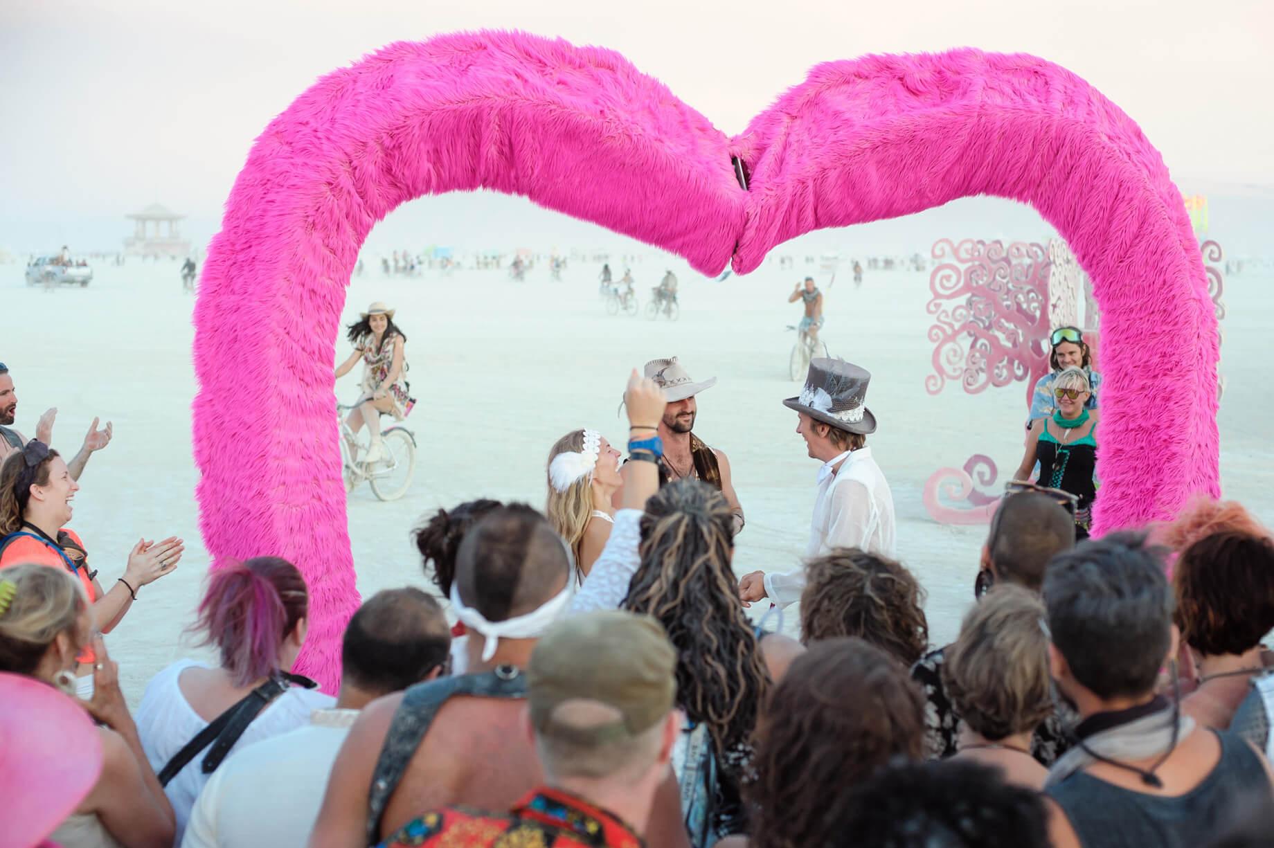 Burning Man Wedding on the Playa in Black Rock City, Nevada (21)