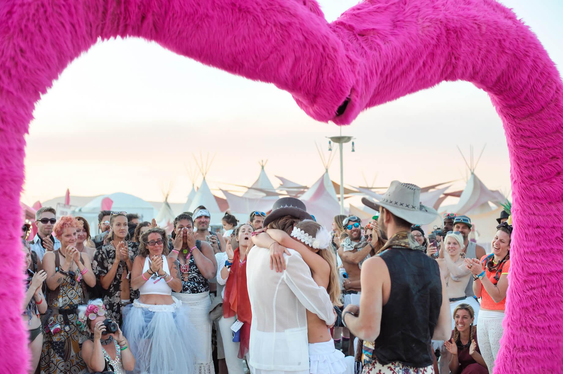 Burning Man Wedding on the Playa in Black Rock City, Nevada (23)