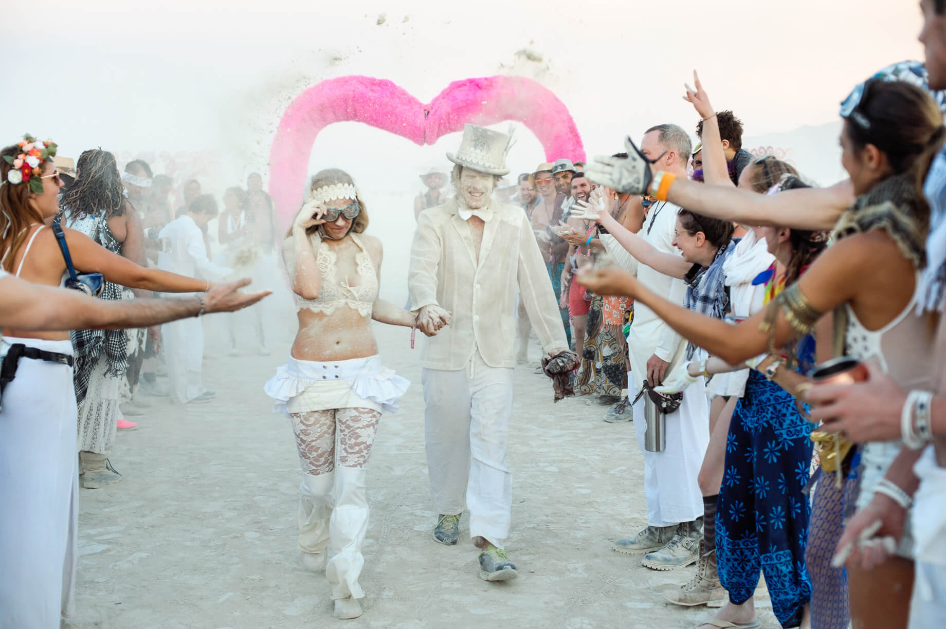 Burning Man Wedding on the Playa in Black Rock City, Nevada (24)